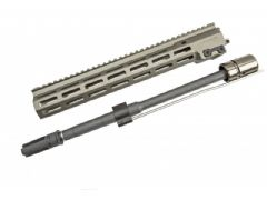 SVOBODA (for GHK) Mk16 URGI rail, steel barrel, flash hider set
